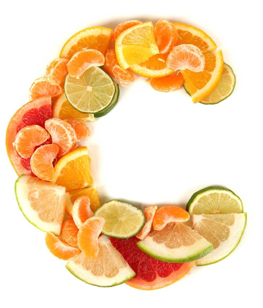 Mangiare molta frutta con vitamina c