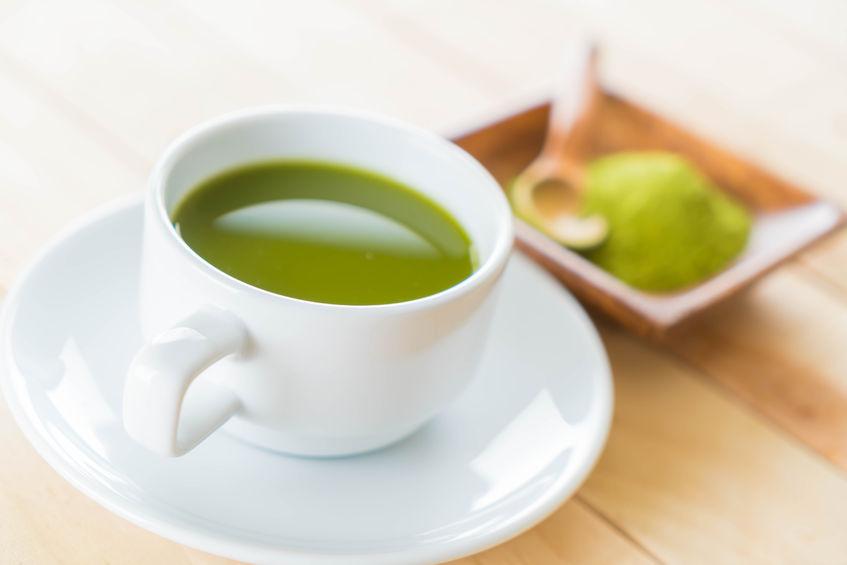 bevanda di caffe verde in tazza