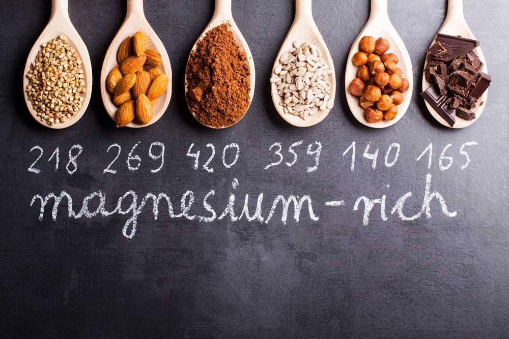 alimenti che contengono magnesio